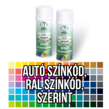 Boll festékkel töltött spray 400 ml színkód szerint