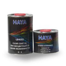 Haya Hs 4002 akril színtelen lakk+edző 1 liter+0,5 liter
