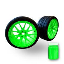 Jelző pigment (neon) 1 gramm zöld színben